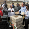 Haiti�s Sports for Hope Olympic Center Groundbreaking photo