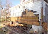 NYC DPR Utility Replacement and Relocation – Caretaker House, Butler Manor Woods Park photo