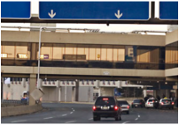 Philadelphia Airport On-Call Contract Departure Terminal Roadway Bollards  photo