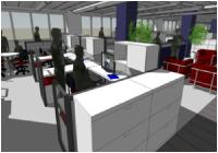 New York State Insurance Fund Headquarters Renovation & Workplace Improvements photo