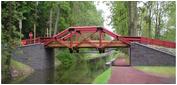 Delaware Canal State Park Smithtown Bridge  photo