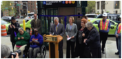 ADA Accessibility 71 St. - Continental Ave Station, Forest Hills Queens Line  photo